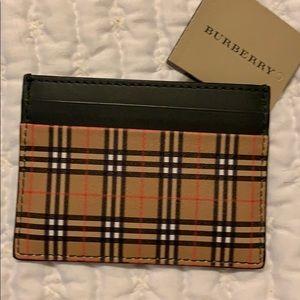 Burberry little mini wallet so cute!! Brand new!